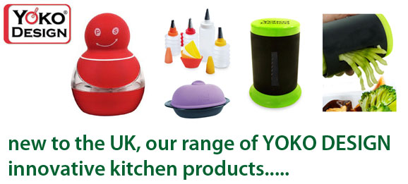 YOKO DESIGN innovative kitchen products now in-stock at The Emporium Direct