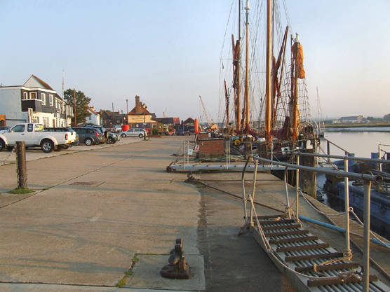 Maldon's Hythe Quay