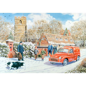 1000 Piece DeLuxe Jigsaw Puzzle - Wait Mr Postman Preview