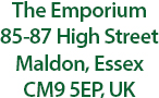 The Emporium High Street store address