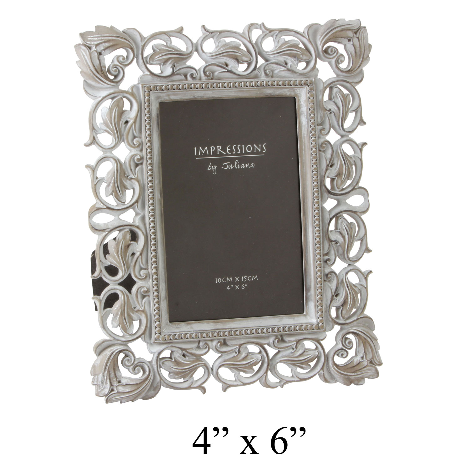 impressions vintage art deco baroque design carved photo picture frame 4x6 home ebay. Black Bedroom Furniture Sets. Home Design Ideas