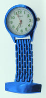 View Item Citron Metallic Blue Nurses Fob Watch