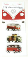 View Item VW Campervan Magnets Set of 3 Assorted