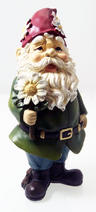 View Item Garden Flower Gnome in Green Jacket by Joseph's Studio