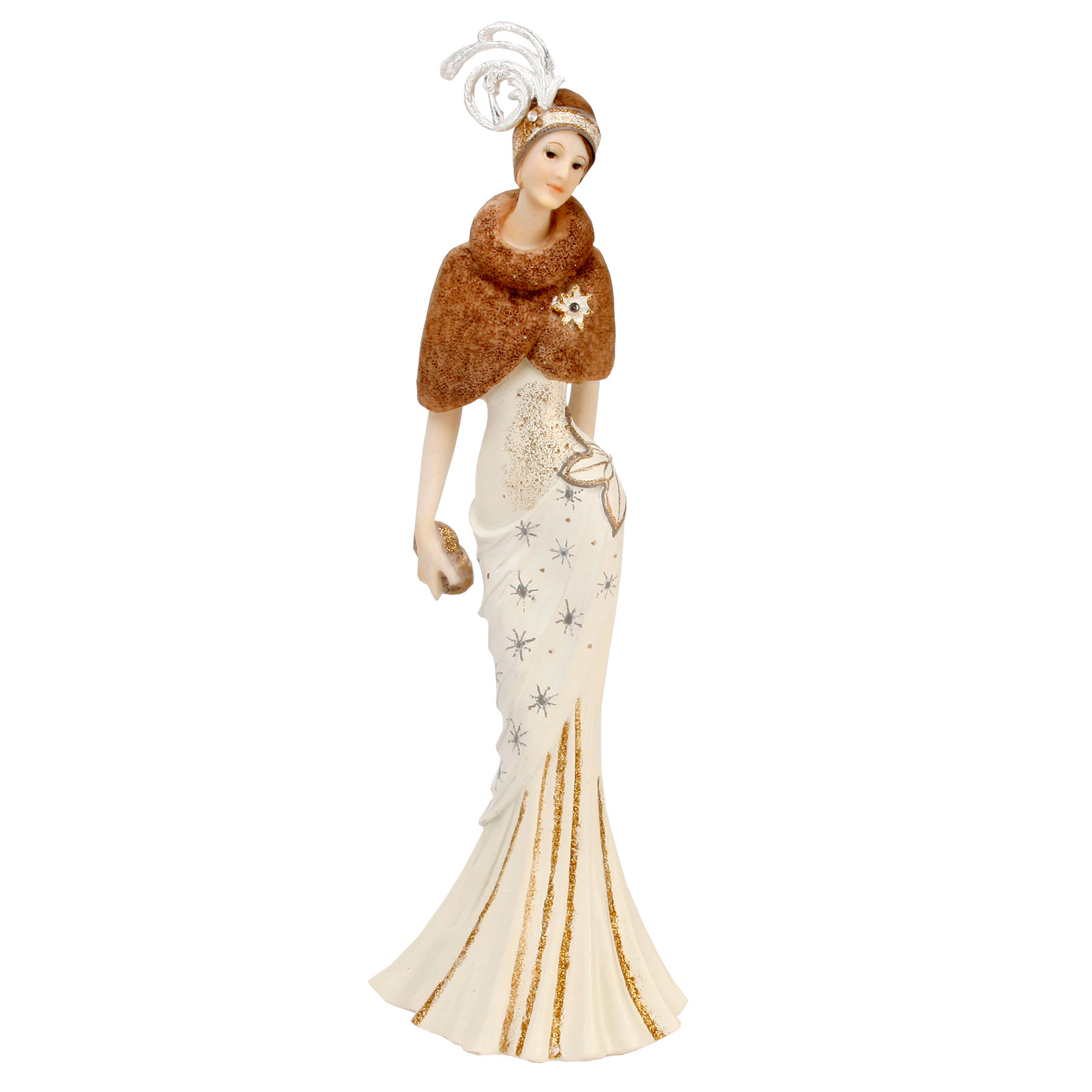 juliana art deco chicago style evening model lady figurine gift ornament statue ebay. Black Bedroom Furniture Sets. Home Design Ideas