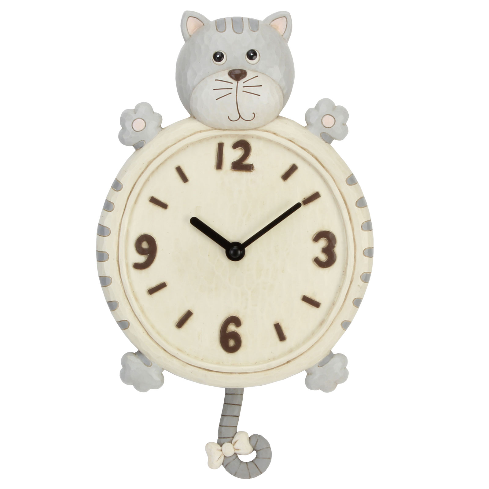 Animal style wall clocks hanging childrens bedroom clock with pendulum baby gift - Stylish pendulum wall clock ...