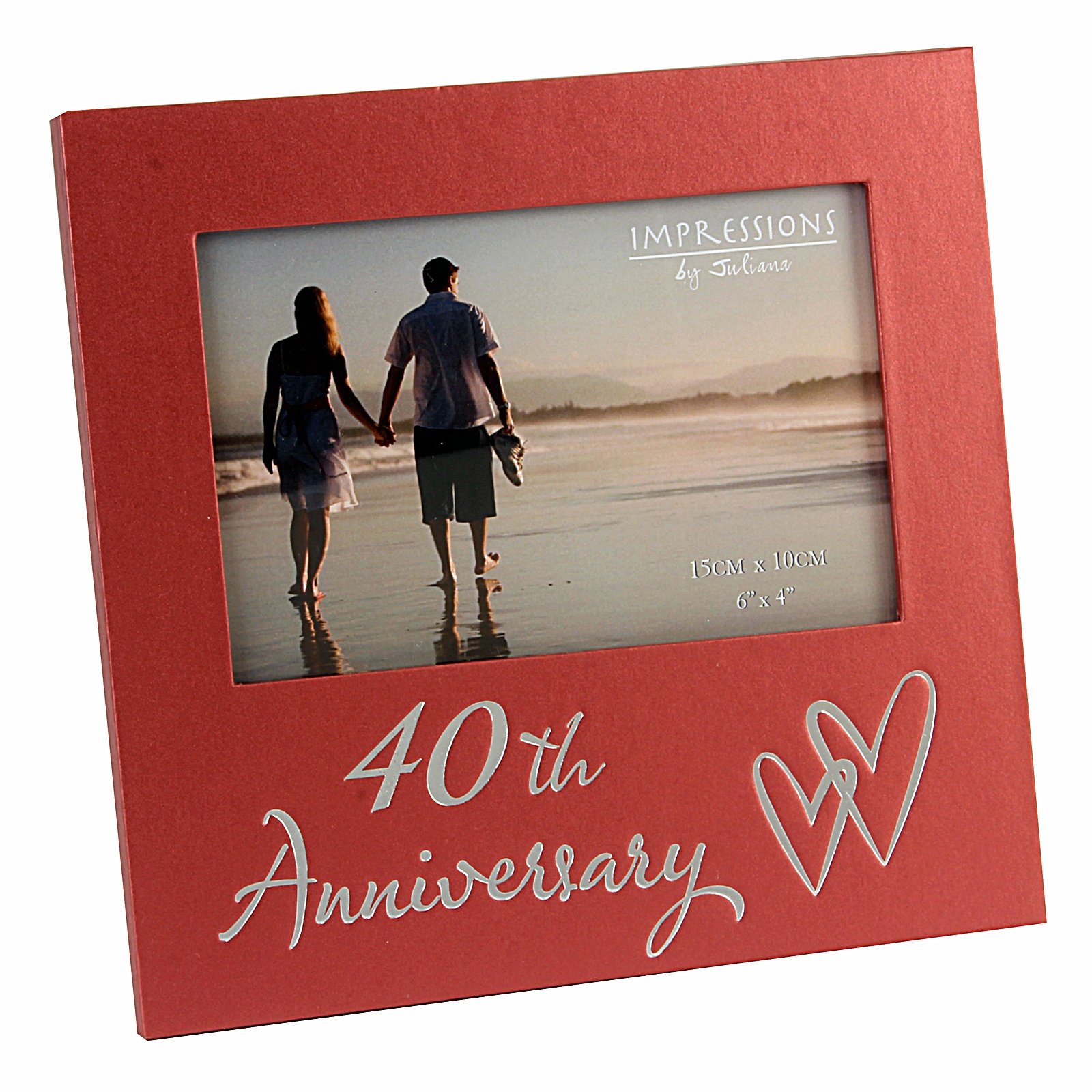 Gift Of Wedding Anniversary: NEW Luxury Wedding Anniversary Photo Frame Gift 25th 40th