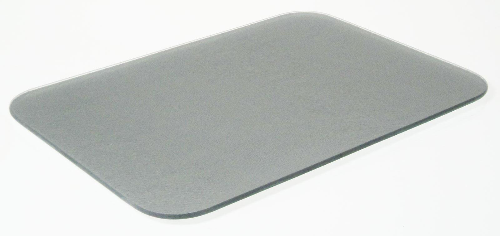 Black Glass Worktop Protector