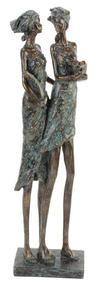 View Item Juliana Bronze Verdigris Finish Masai Sisters 60309