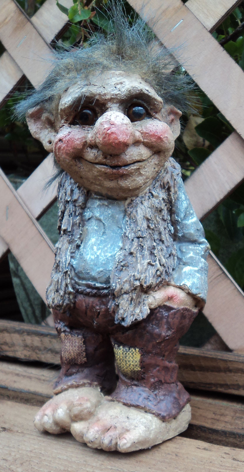 Fun novelty viking dam ugly troll gnome gift ornament for Garden trolls
