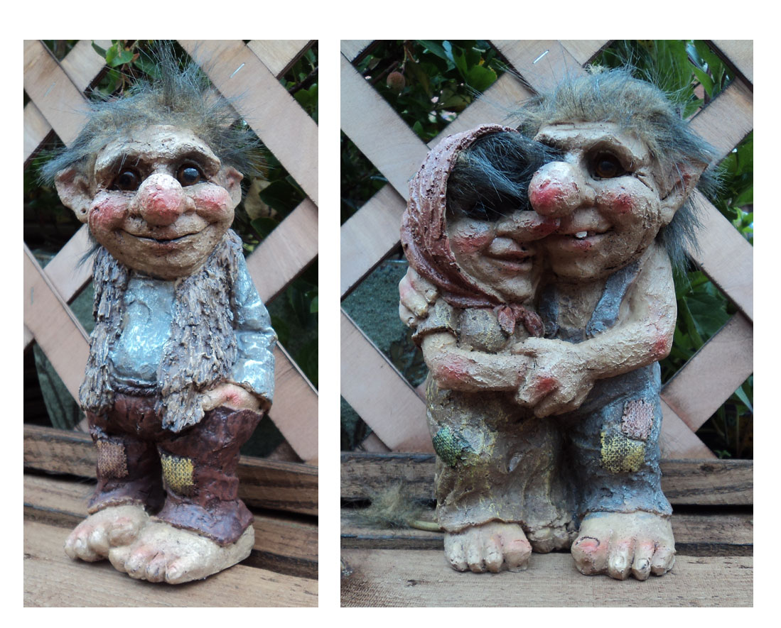 Fun Novelty Viking Dam Ugly Troll Gnome Gift Ornament Statue Garden Outdoor  Home | EBay