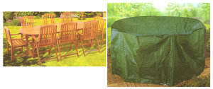 7' Foot Outdoor Garden Furniture Oval Patio Set Cover Preview