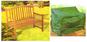 5' Foot Waterproof Garden Bench Cover - Fits All Up To 1.5M Preview