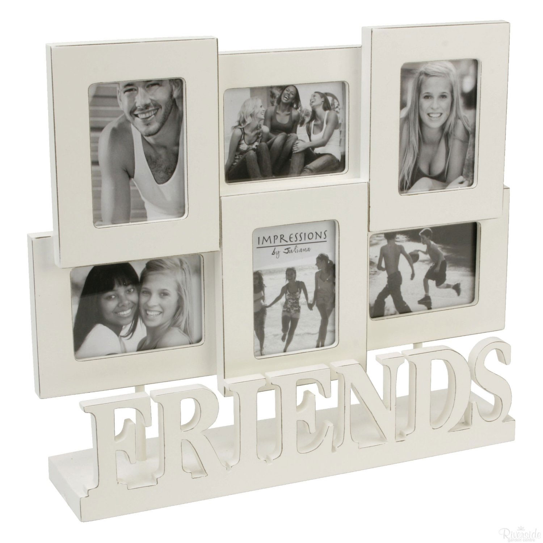 Friends 6 Multi Aperture Collage Photo Frame 2x3 Quot Picture