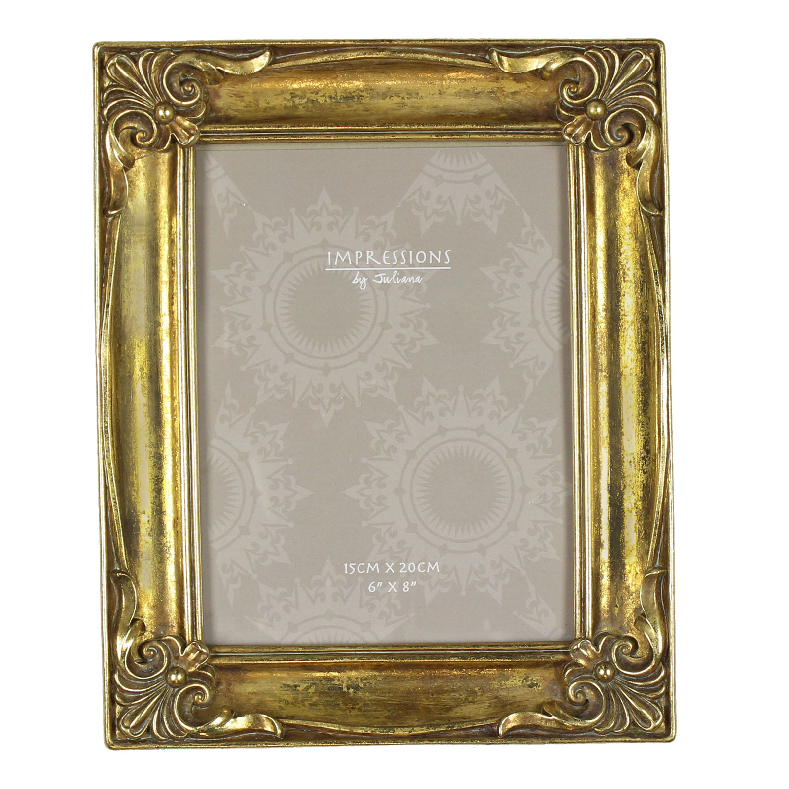 ornate antique vintage art deco style photo frame picture distressed shabby chic ebay. Black Bedroom Furniture Sets. Home Design Ideas
