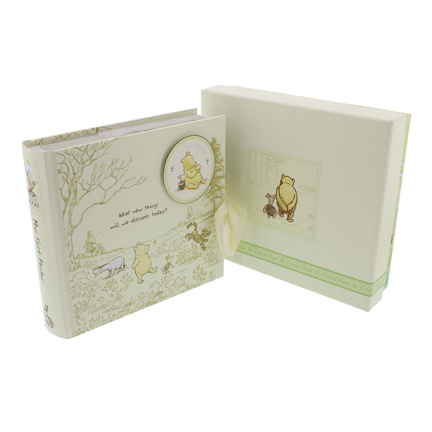 Baby Gift Emporium : Classic disney winnie the pooh photo album newborn baby