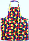 View Item Adults Harlequin Apron Cotton One Size