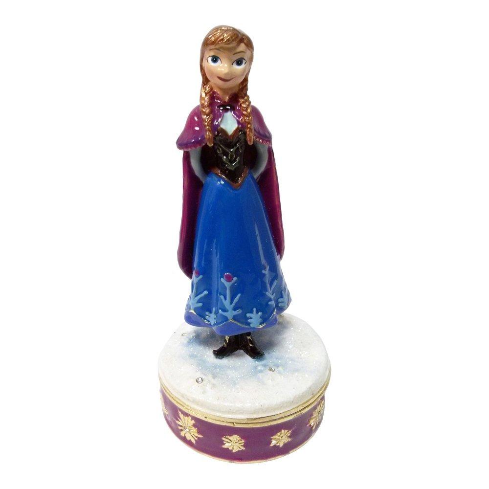 Disney frozen ornaments - Official Disney Frozen Anna Elsa Trinket Box Collectable
