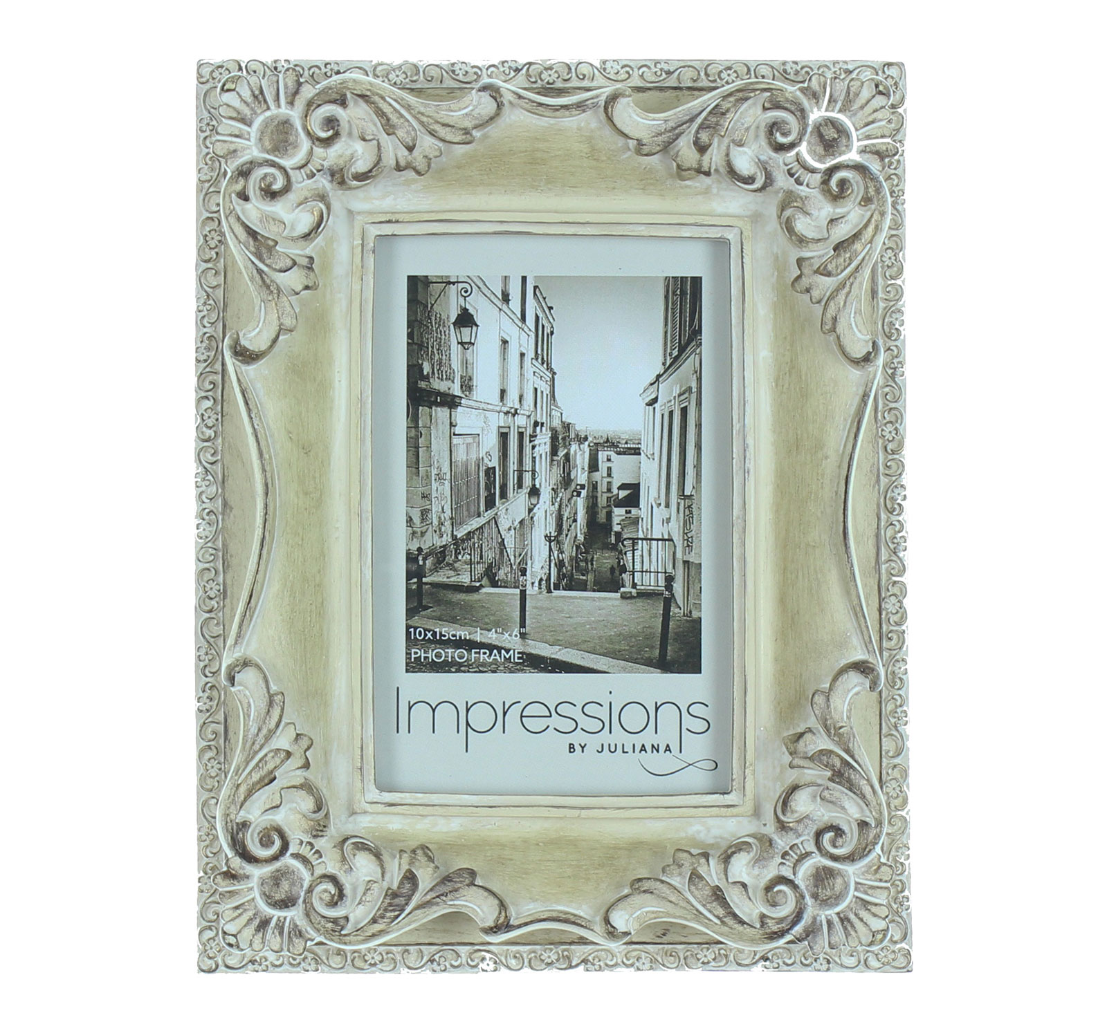 Ornate antique vintage art deco style photo frame picture for Deco style shabby