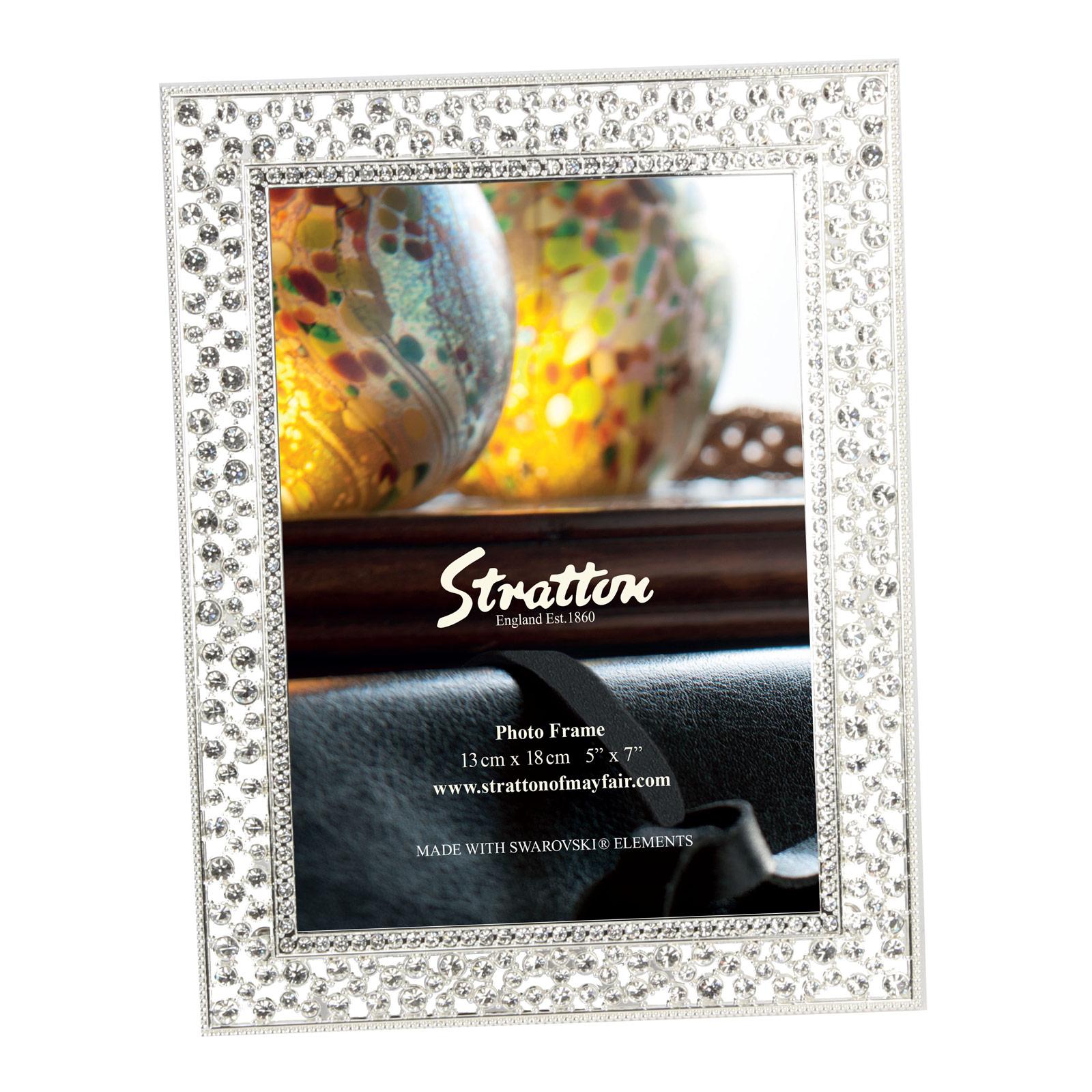 Stratton Sparkly Swarovski Crystal Elements Photo Frames Wedding ...