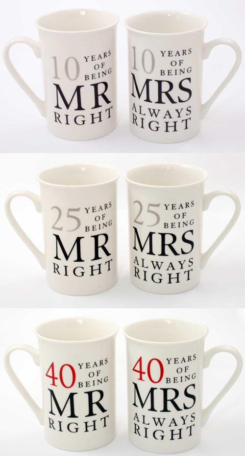 Mrs Always Right Collection Review: Amore Wedding Anniversary Gift Sets Mr Right + Mrs Always
