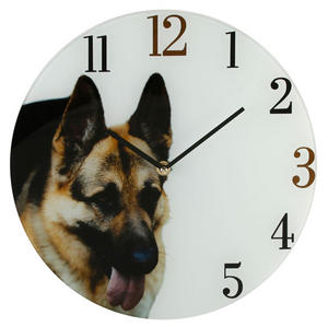 Best Of Breed Dogs Glass Wall Clock - German Shepherd Dog Preview