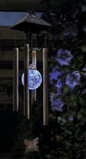 View Item Garden Solar Powered Colour Changing Wind Chime Light