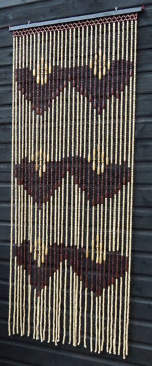 ... & Natural Wooden & Bamboo Beaded / Bead Door Curtain - TS2 Preview