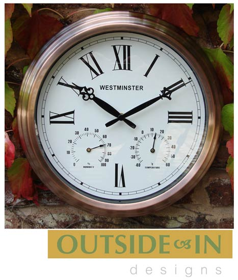 outside in designs antique copper round outdoor garden