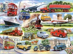 1000 Piece DeLuxe Jigsaw Puzzle - Golden Oldies Preview