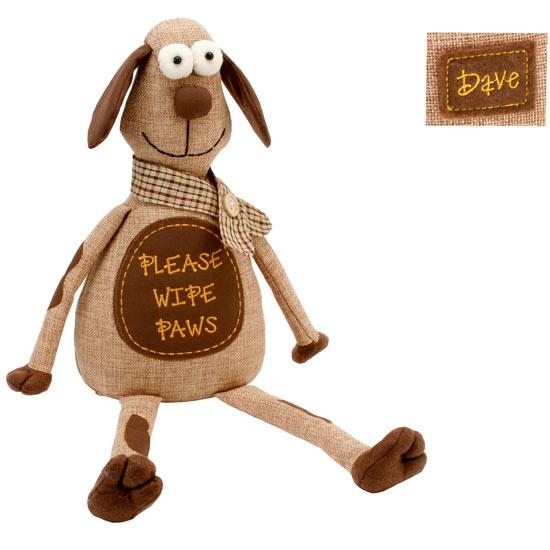Novelty doorstops fun dave the dog design door stop home living gift idea ebay - Novelty doorstop ...