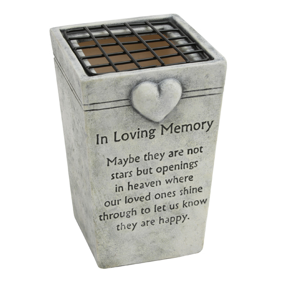 In Loving Memory Grave Flower Vase Holders Graveside