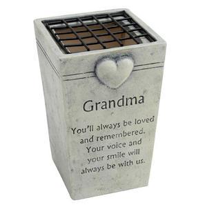 Graveside Memorial Flower Pot Holder GRANDMA Preview