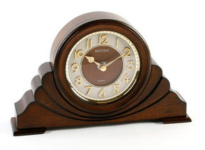 Classic Brown 3D Dial Napoleon RHYTHM Mantel Clock Preview
