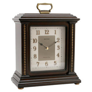 Classic RHYTHM Carriage Musical Mantel Clock With 3D Dial Preview