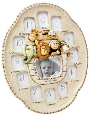 Noahs Ark My First Year Multi Photo Frame Preview