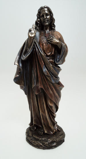 Bronze Colour Jesus Standing Gift Ornament Preview