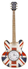 View Item Metal Wall Art Glorious Britain Union Jack Guitar