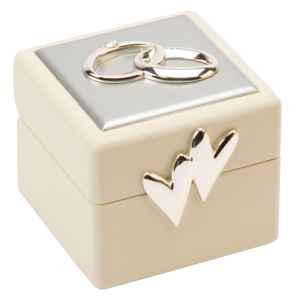 beautiful amore double wedding ring box holder amp cushion