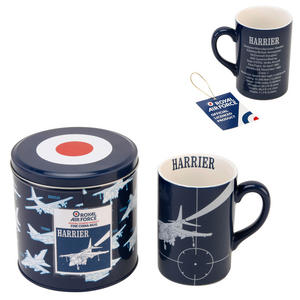 RAF Harrier Jump Jet Fine Bone China Mug in a Tin Box Preview