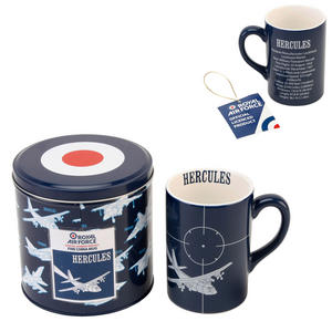 RAF Hercules Fine Bone China Mug in a Tin Box Preview