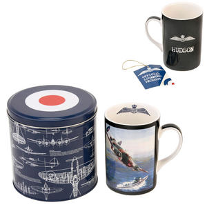 RAF Hurricane Fine Bone China Mug in a Tin Box Preview