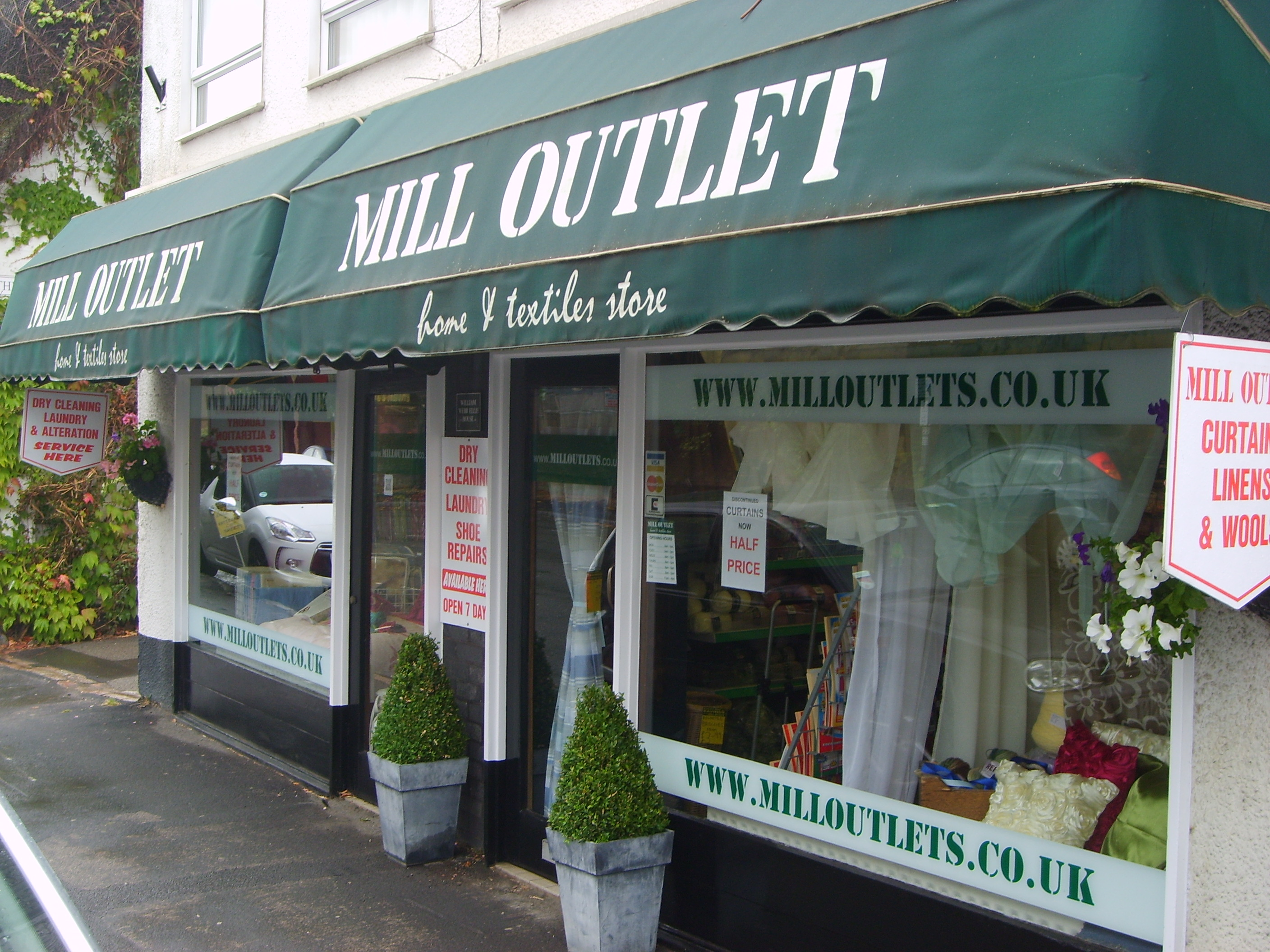 Mill Outlet Shop Front