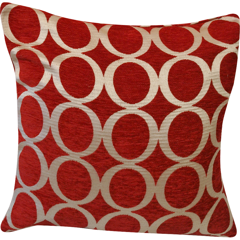 vibrant modern cushion covers double sided circle design home  - vibrantmoderncushioncoversdoublesidedcircledesign
