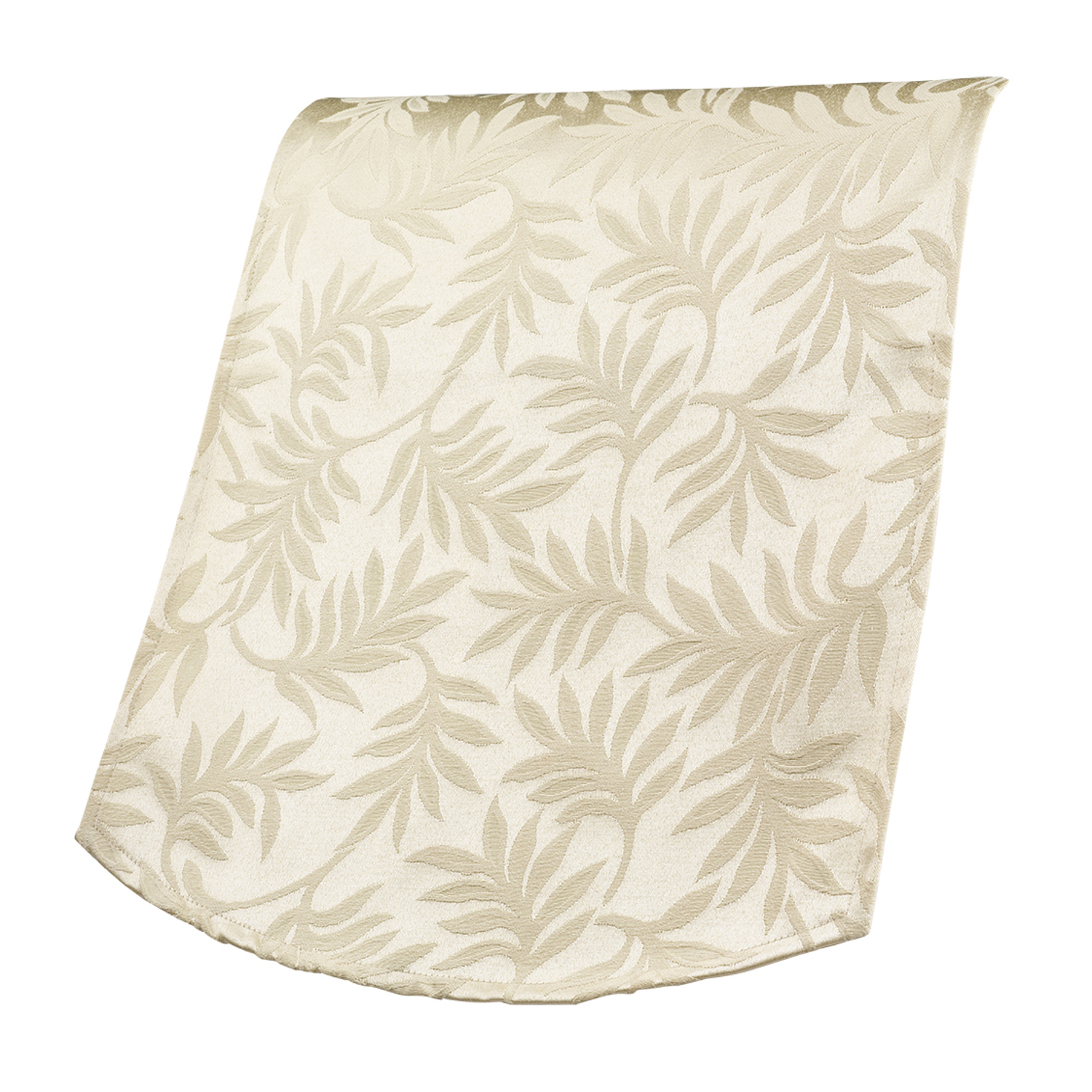 Decorative traditional leaf style antimacassar chairback for Decorative furniture covers