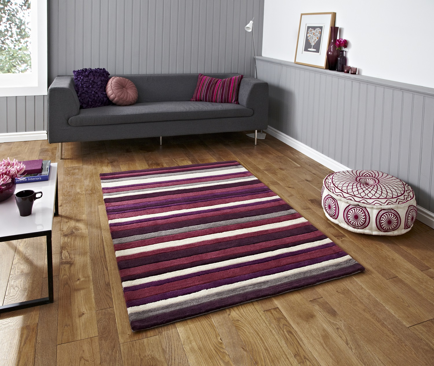 Purple rugs for