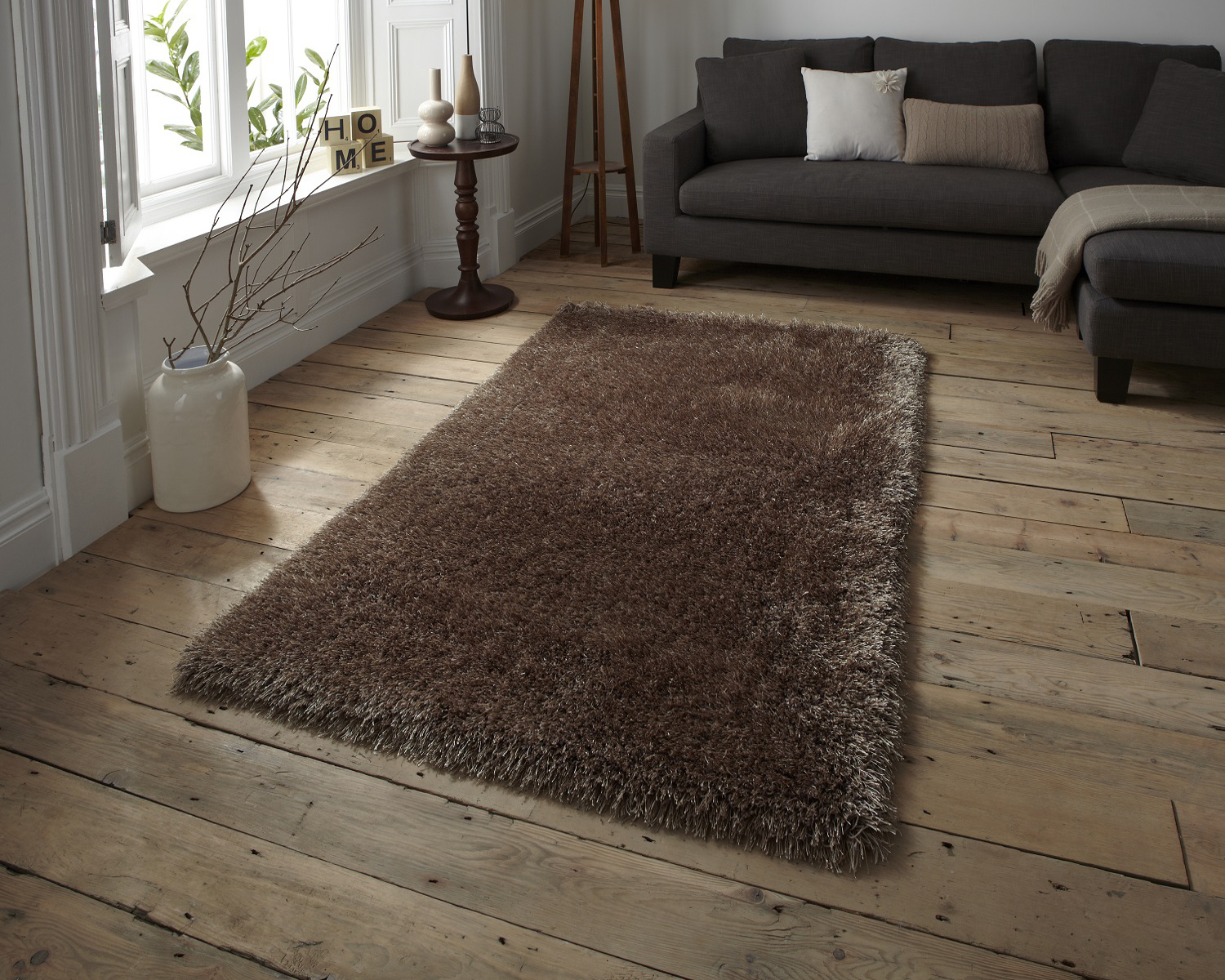 Hand Tufted Super Soft Polyester Acrylic Rug Monte Carlo Gy