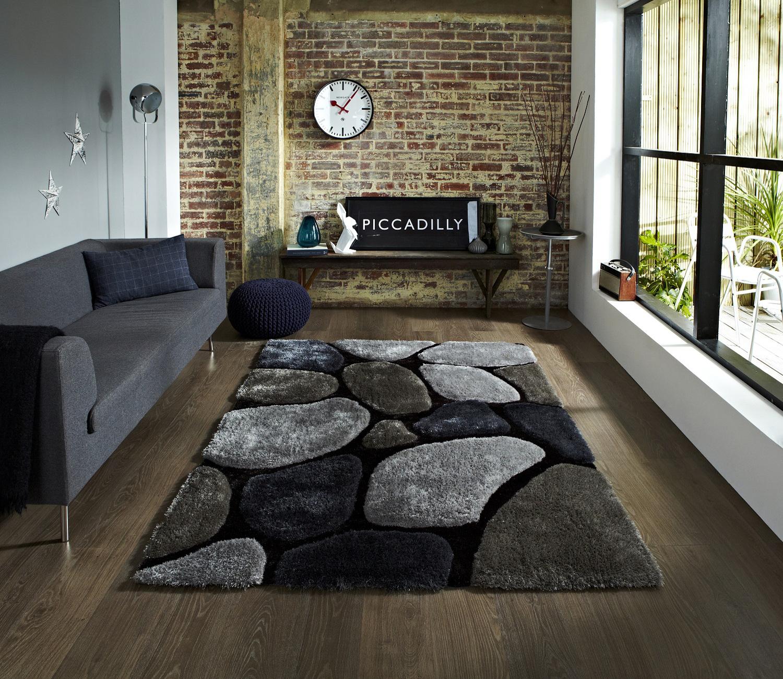Pebble rug roselawnlutheran for River stone bath mat