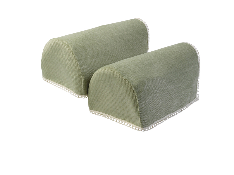 Lace Trim Chenille Round Arm Caps Standard XL U0026 Mini Chair Furniture  Protector ...