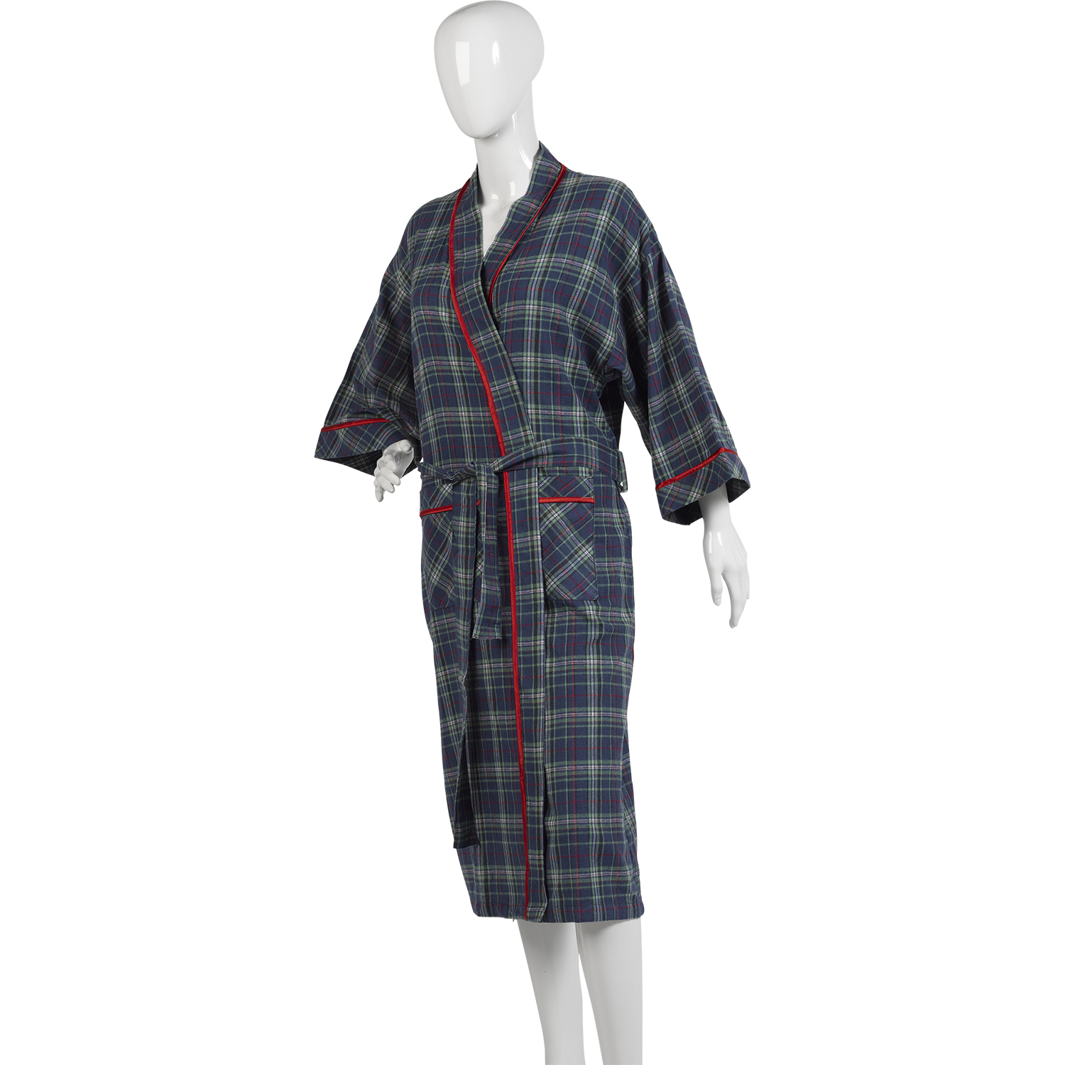 10dd21af4f Royal Stewart Tartan Dressing Gown from Magee of Donegal at Woods Of  Shropshire - Finest Menswear